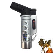 Maçarico Mini Portátil Recarregável Ultra Chama 1000 Graus - Torch
