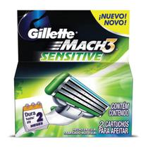 Mach 3 Carga Sensitive C/2 - Gillette