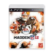Madden NFL 12 - PS3 - Ea