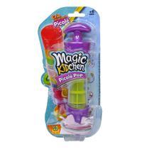 Magic Kidchen - Picolé Pop - Roxo e Amarelo - Dtc -