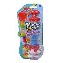 Magic Kidchen - Picolé Pop - Vermelho e Azul - Dtc -