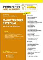 Magistratura Estadual - Juiz Estadual Substituto - 5ª Edição (2020) - Juspodivm -