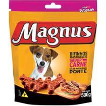 Magnus Bifinhos Mastigáveis sabor Carne para Cães de porte pequeno 500g -