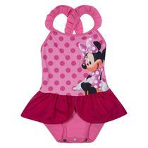 Maiô Infantil - Disney - Minnie Mouse - Rosa - Tip Top -