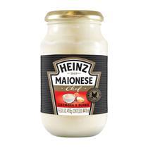 Maionese Chef Receitas Cremosas Suave 415g - Heinz