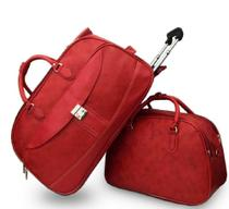 Mala Bolsa de Viagem, rodinhas, bordo, média e  Bolsa mala pequena de mão - Fany -