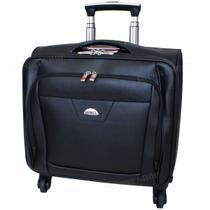 Mala Briefcase Piloto Viagem Notebook Documentos Rodinhas - Leisite