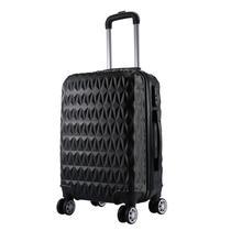 Mala de Bordo Viagem Pequena ABS - (55 x 35 x 22cm) C/ 4 Rodinhas 360º - (Regulamentação ANAC) - Eagle