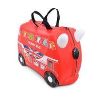Mala de Viagem com Rodinha Infantil Trunki Onibus Boris Bus Red Vermelho -