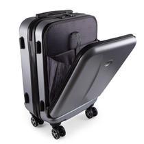 Mala de Viagem Pequena Bordo Executiva para Notebook Entrada USB ABS IKA Premium Cadeado TSA -