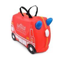Mala Infantil Trunki - Bombeiro Frank - Sua viagem muito mais divertida - cor Vermelho -