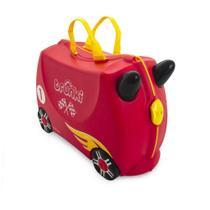 Mala Infantil Trunki - Carro de Corrida - Sua viagem muito mais divertida - cor Vermelho -