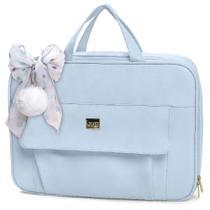 Mala Maternidade Requinte Hug Cor Azul - Hug Bolsas