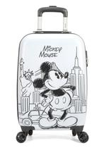 Mala Viagem Mickey Mouse New York P  Cadeado Branca Original - Disney