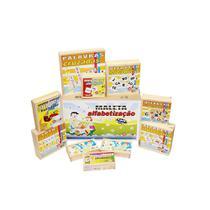Maleta Alfabetização Carlu Com 10 Jogos -
