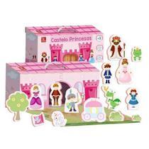 Maleta Castelo de Princesas em madeira -