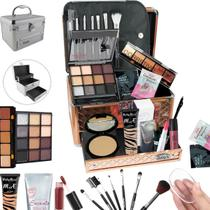 Maleta Completa com Maquiagem Ruby Rose Luisance + Cortesia da Loja - BZ19 - Bazarnaweb