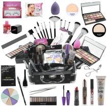 Maleta Completa de Maquiagem  Ruby Rose   BZ72 - Bazarnaweb