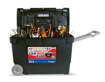 Maleta de Ferramentas Car Box com Rodinhas - Arqplast