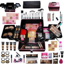 Maleta de maquiagem com 4 bases Ruby Rose -