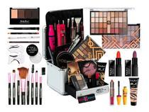 Maleta De Maquiagem Completa 32 Sombras E Caneta Delineadora - Ruby Rose