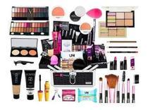 Maleta De Maquiagem Completa Com Corretivo Ruby Rose Linda -