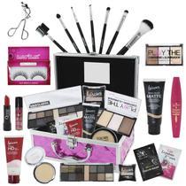 Maleta de Maquiagem Completa Luisance Corretivo e Iluminador BZ61 - Bazarnaweb