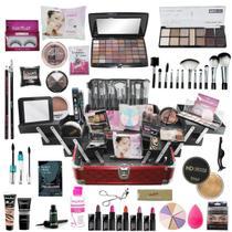 Maleta De Maquiagem Completa Ruby Rose A Mais Completa - Bazarnaweb