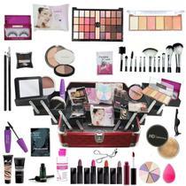 Maleta De Maquiagem Completa Ruby Rose A Mais Completa BZ71 - Bazar Web