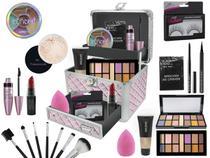 Maleta De Maquiagem Completa Ruby Rose Essencial - Bazar Na Web
