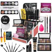 Maleta De Maquiagem Completa Ruby Rose Essencial - Bazarnaweb