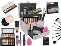 Maleta De Maquiagem Completa Ruby Rose Super Completa -