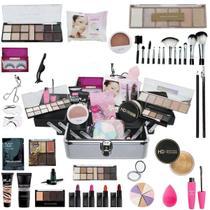 Maleta De Maquiagem Completa Ruby Rose Super Essencial - Bazar Web