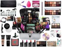 Maleta De Maquiagem Completa Ruby Rose Super Essencial -