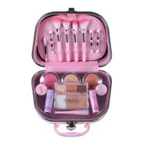 Maleta de maquiagem Fenzza FZ40002 Make Up Pin Up Lettre Collection Rosa -