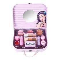 Maleta de maquiagem Fenzza FZ40008 Make Up Retrô -