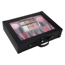 Maleta de maquiagem Fenzza FZ40011 Make Up Antique Collection Preta -
