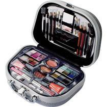 Maleta de Maquiagem Fenzza Glamourosa HZP928 Prata -