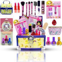 Maleta De Maquiagem Infantil Necessaire Muitos Brilhos Bz105 - Bazar Na Web