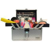 Maleta de Maquiagem kit Completo Profissional 26 Itens + Necessaire Brinde - Ruby'S