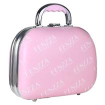 Maleta de Maquiagem Pequena Fenzza - Pin Up Lettre Collection Pink