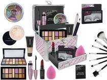Maleta De Maquiagem Ruby Rose Mega Completa Pó Translucido - Bazar Na Web