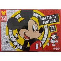 Maleta De Pintura - Mickey - 72 Peças - Molin -