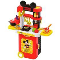 Maleta de Viagem Mickey Cozinha Play Set 3 em 1 Multikids - BR1300 - Multilaser