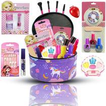 Maleta Frasqueira de Maquiagem Completa Infantil BZ102 - Bazar Na Web