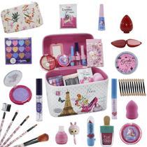 Maleta Infantil + Kit de Maquiagens de Beleza BZ66 - Bazar Na Web