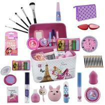 Maleta Infantil + Kit De Maquiagens De Beleza Bz66 + Brindes - Bazar Web