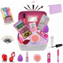 Maleta Infantil + Kit maquiagens e itens de beleza BZ40 - Bazar Web