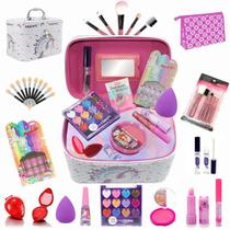 Maleta Infantil + Kit maquiagens e itens de beleza BZ40 - Bazarnaweb