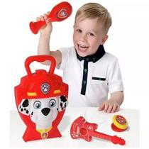 Maleta Infantil Patrulha Canina Kit Musical Do Marshall Dtc 4618 -